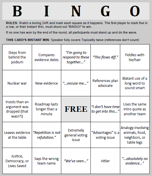 bingo game instructions